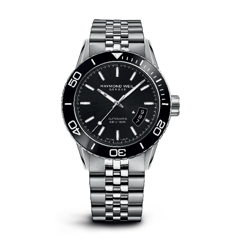 Raymond weil freelancer divers collection